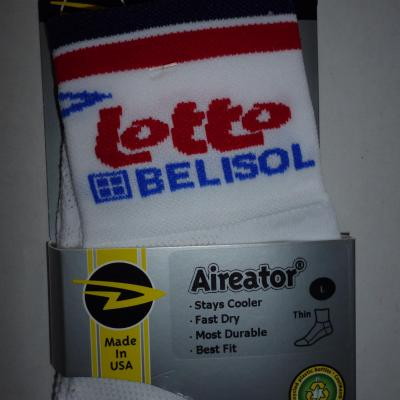 Socquettes LOTTO-BELISOL 2012 (mod.1)