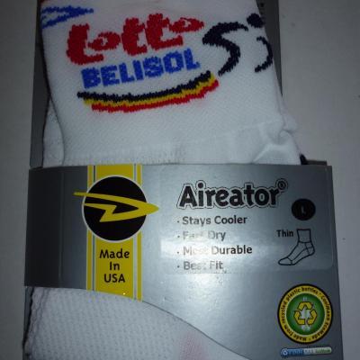Socquettes LOTTO-BELISOL 2012 (mod.2)