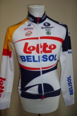 Maillot manches longues LOTTO-BELISOL 2013