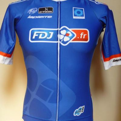 Maillot coupe-vent FDJ.fr (taille S)