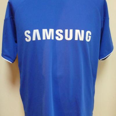 T-shirt bleu SAMSUNG-MTN QHUBEKA (taille L)