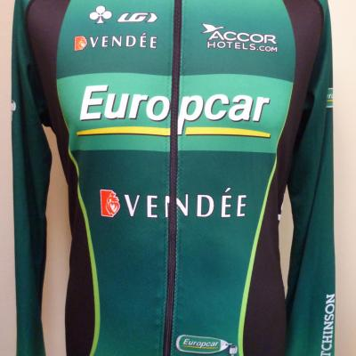 Maillot manches longues EUROPCAR (taille L)