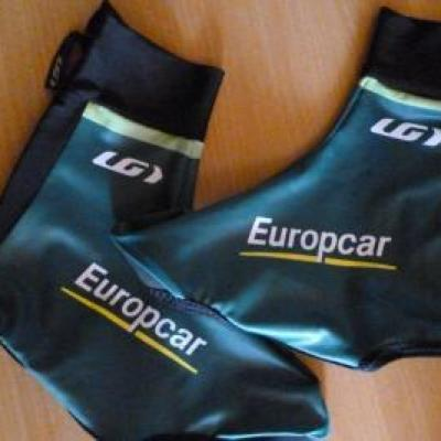 Couvre-chaussures lycra EUROPCAR (taille L)