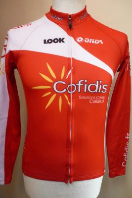 Maillot manches longues COFIDIS 2014