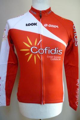 Maillot manches longues COFIDIS 2014 (logo Belgique)