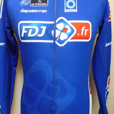 Maillot manches longues doublé FDJ.fr (taille S)