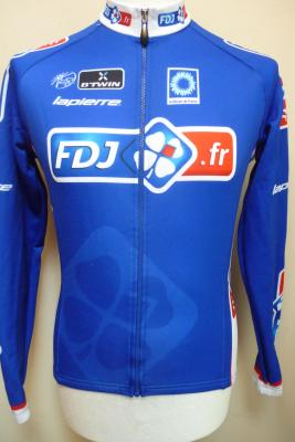 Maillot manches longues doublé FDJ.fr (taille S, mod.1)