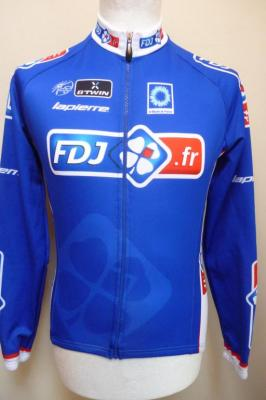 Maillot manches longues doublé FDJ.fr (taille XS)
