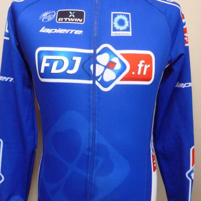 Maillot manches longues doublé FDJ.fr (taille M)
