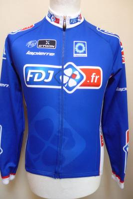 Maillot manches longues doublé FDJ.fr (taille S, mod.2)