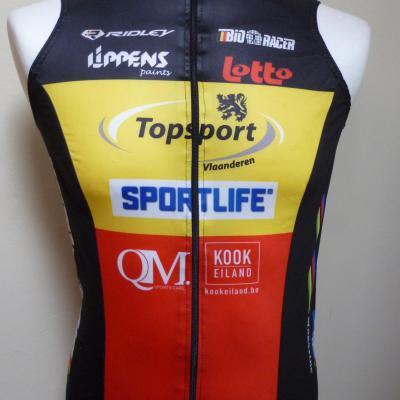 Gilet coupe-vent TOPSPORT- championne de Belgique