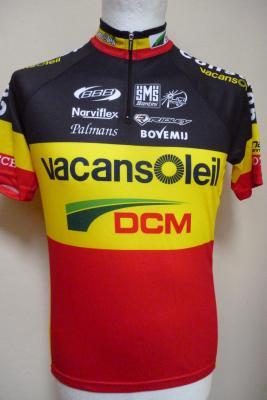 Maillot champion de Belgique VACANSOLEIL (taille M)