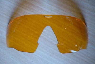 Ecran pour lunettes UVEX-SGL104 (orange)
