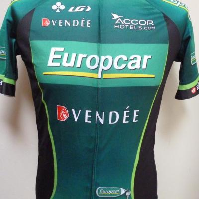 Maillot EUROPCAR (taille L)