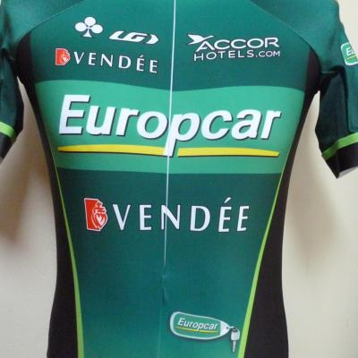 Maillot lycra EUROPCAR (taille L)