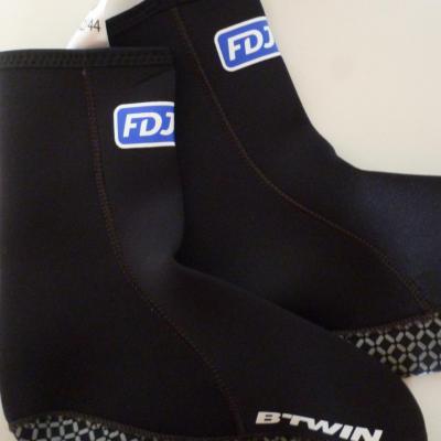 Couvre-chaussures néoprène FDJ (taille L)