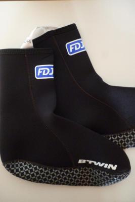 Couvre-chaussures néoprène FDJ