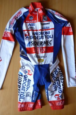 Combinaison CLM manches longues ANDRONI-GIOCATTOLI 2015 (spécial Giro)