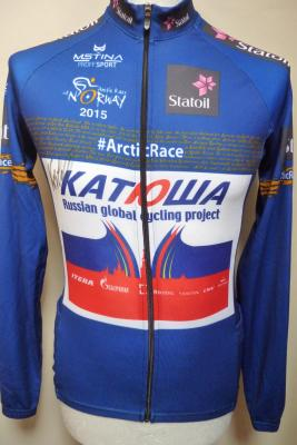 Maillot ML bleu KATUSHA-ARCTIC RACE 2015