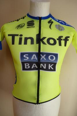 Maillot aéré TINKOFF-SAXO 2015
