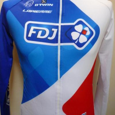 Maillot ML doublé FDJ (taille S)