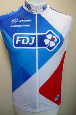 Gilet coupe-vent FDJ