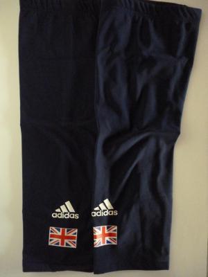 Genouillères bleues Adidas-GB