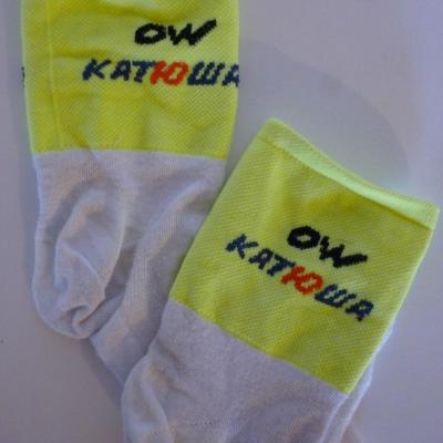 Socquettes KATUSHA 2015 (taille L/XL)