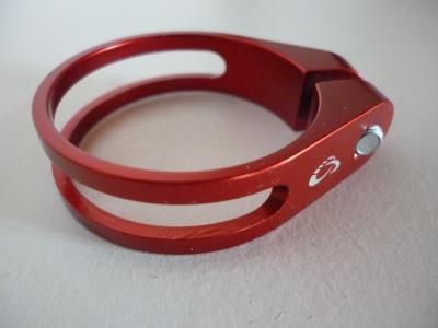 Collier serrage de selle alu CNC (diam.34,9)