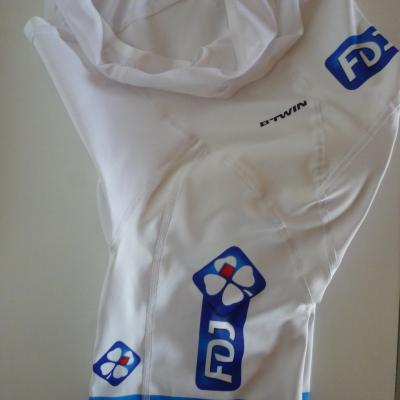 Cuissard luxe blanc FDJ (taille M, mod.1)