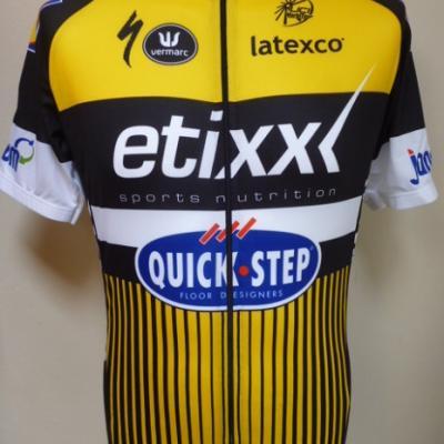 Maillot Grand Tour-ETIXX-QS 2016 (jaune)