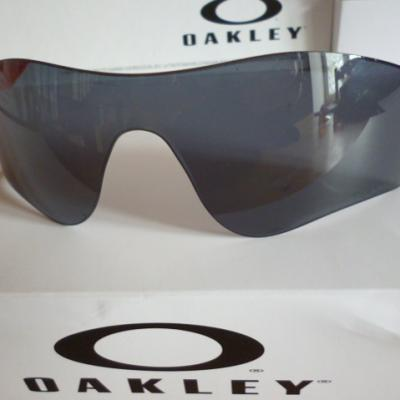 Ecran OAKLEY-RADARLOCK (Grey Iridium polarisé)