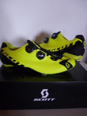 Chaussures jaunes SCOTT-Road RC (taille 43,5)