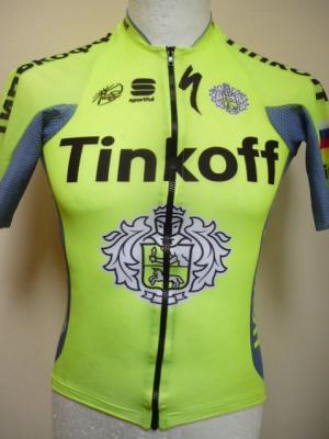 Maillot TINKOFF 2016 'Speed Skin'