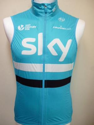 Gilet bleu style Gore-Tex SKY