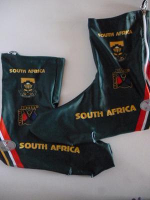 Couvre-chaussures lycra AFRIQUE DU SUD