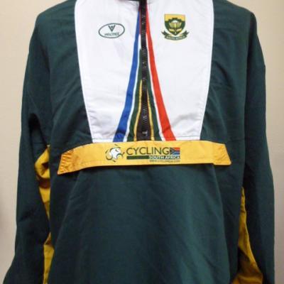 Veste survêtement équipe AFRIQUE DU SUD