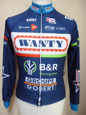 Maillot doublé manches longues WANTY 2016