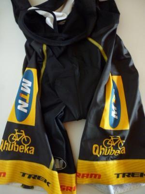 Cuissard Vermarc-MTN-QHUBEKA (bande jaune,taille L, mod.1)
