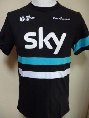 T-shirt noir Rapha-SKY (taille L)