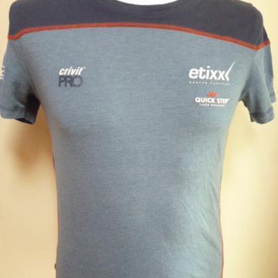 T-shirt bleu ETIXX-QS 2016 (mod.1)