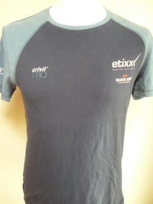 T-shirt bleu ETIXX-QS 2016 (mod.2)