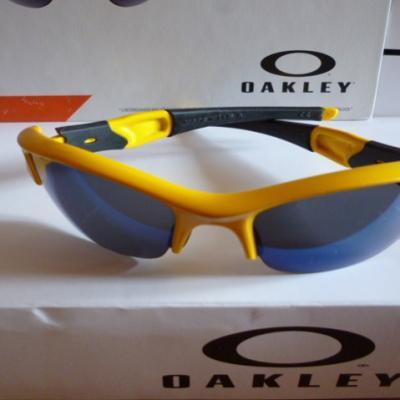 Lunettes OAKLEY-FLAK jaunes