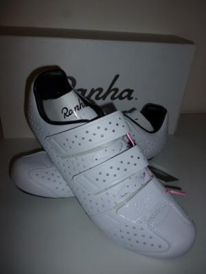 Chaussures RAPHA-Climber blanches (taille 45,5, mod.1)