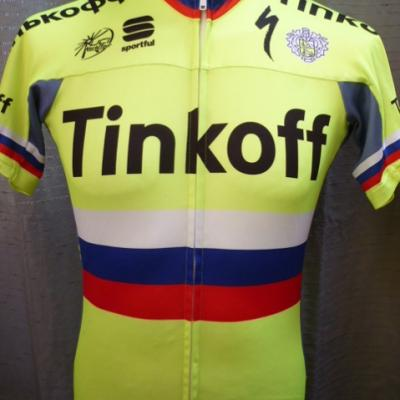Maillot TINKOFF-ch. de Russie (taille L)