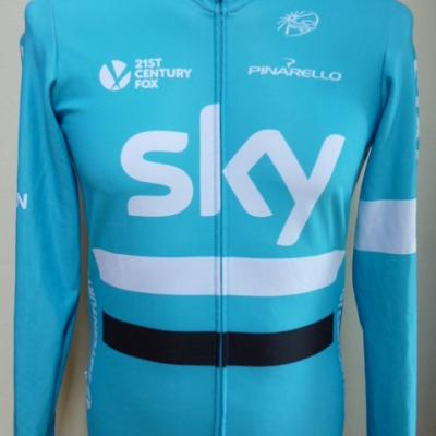 Maillot hiver ML bleu SKY (taille M)