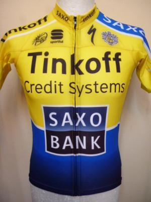 Ensemble maillot/cuissard TINKOFF-SAXO 2014 (2 pièces)