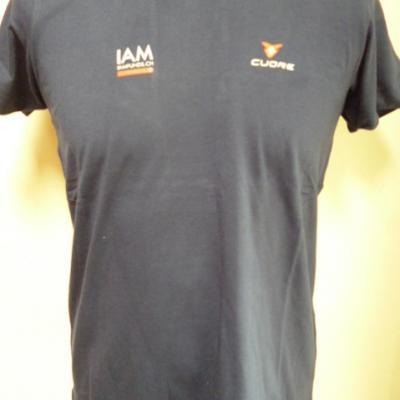 T-shirt bleu IAM