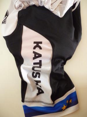 Cuissard aéré champion d'Europe-KATUSHA 2017