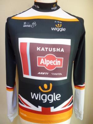 Maillot protocole Tour de Grande-Bretagne-KATUSHA 2017